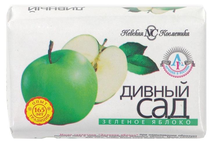 Косметическое мыло Невская косметика Дивный Сад Зеленое Яблоко 90 г