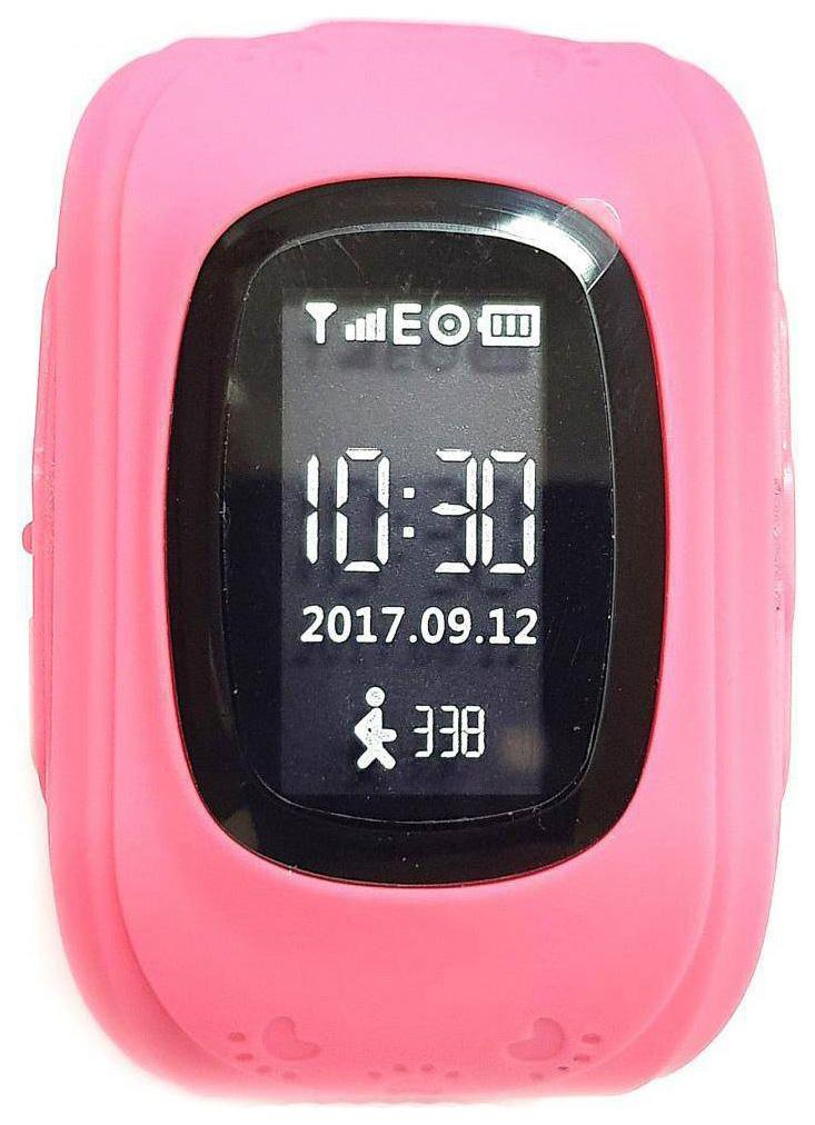 Детские смарт часы Jet Kid Start Pink/Pink