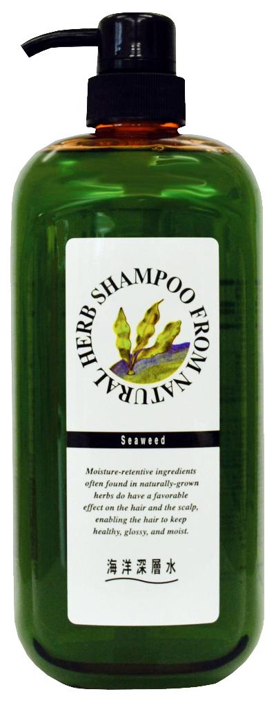 Шампунь Junlove Natural Herb Shampoo С экстрактом бурых водорослей 1000 мл фото