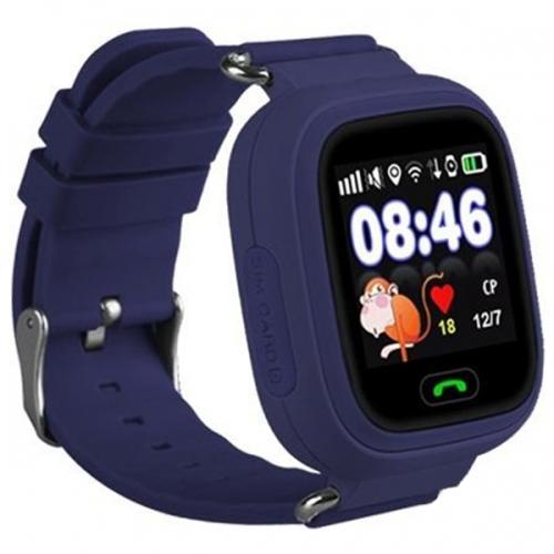 Детские смарт-часы Smart Baby Watch Q90 Blue/Blue