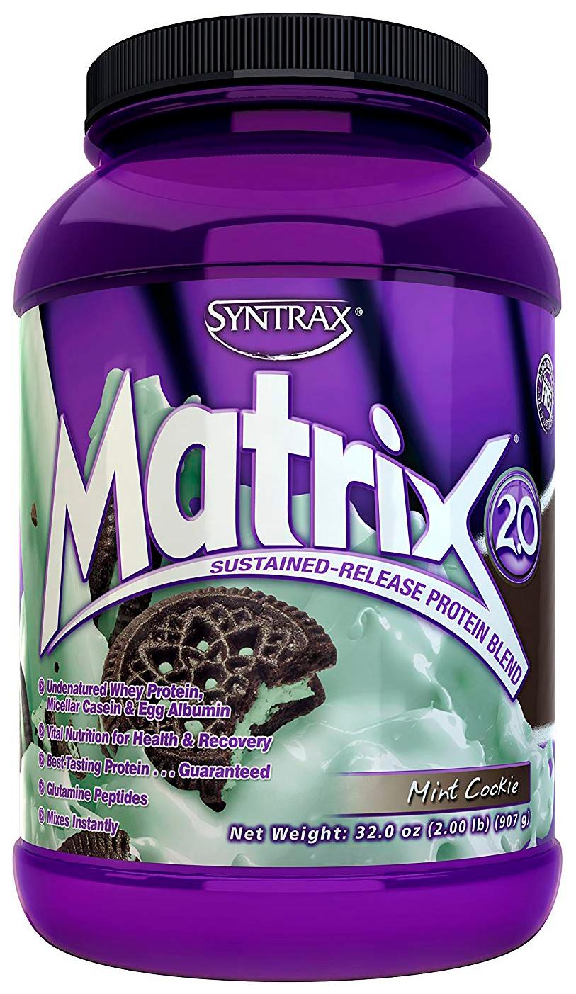 Протеин Syntrax Matrix 2.0 907 г мятное