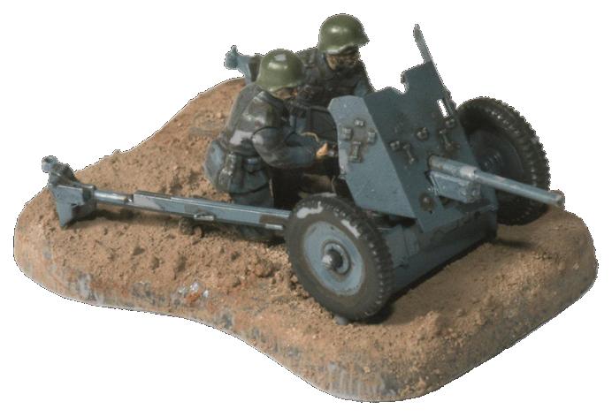 Модели для сборки Zvezda Немецкая противотанковая пушка Пак-36 с расчётом