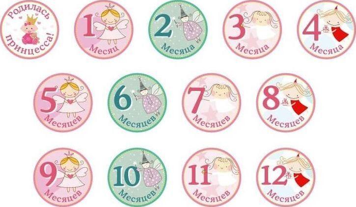 Купить Stick n Click Набор стикеров для девочек Принцесски, Stick'n Click, Аксессуары для детской комнаты