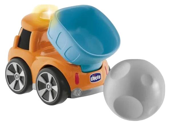 Купить Машинка пластиковая Chicco Trucky коричневая, Игрушечные машинки