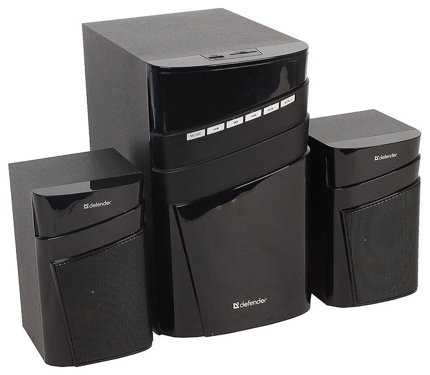 Колонки DEFENDER X400 2.1 Черный