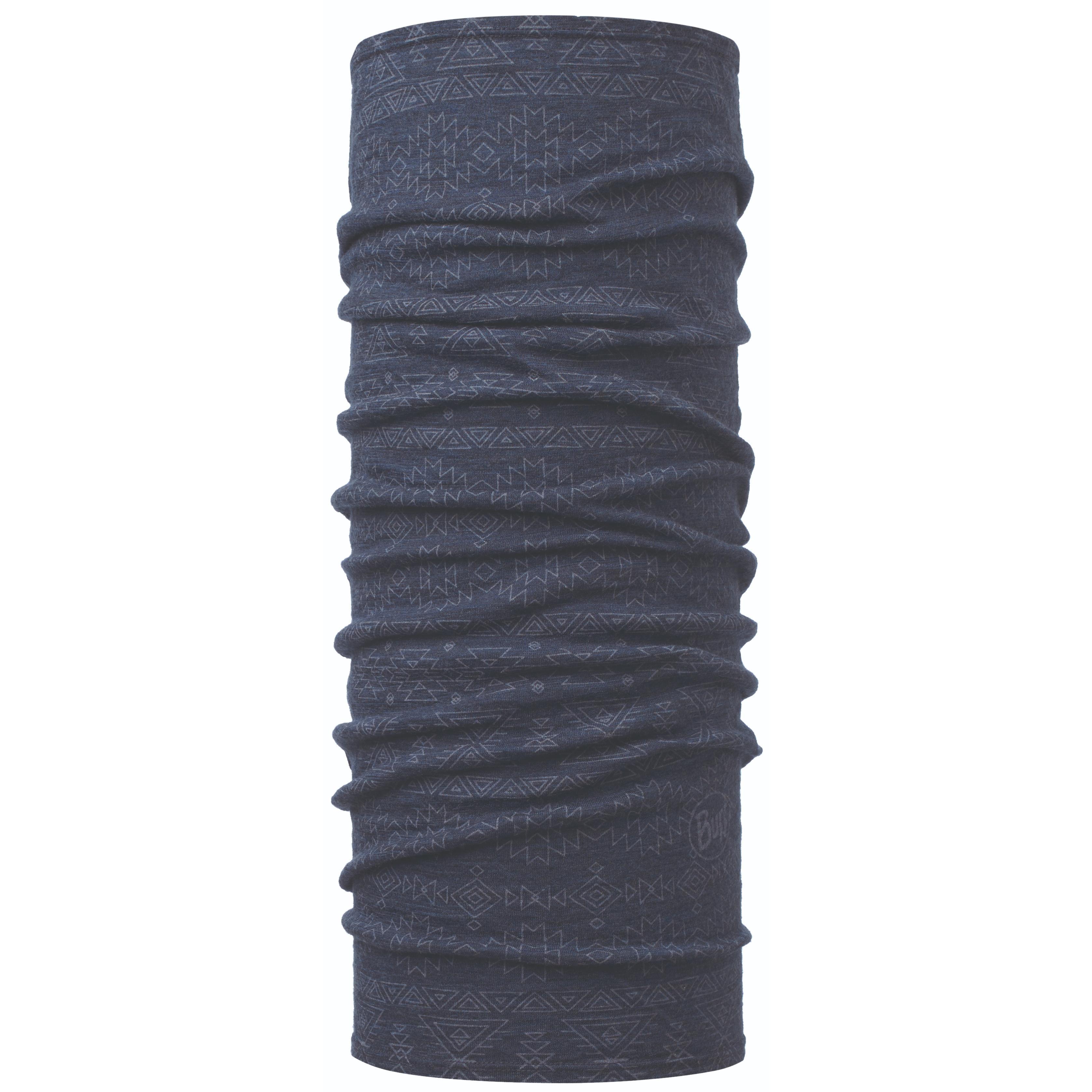 Бандана Buff Lightweight Merino Wool синяя One Size