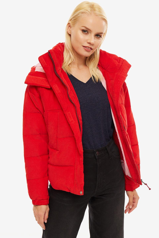 Куртка женская Lee красная