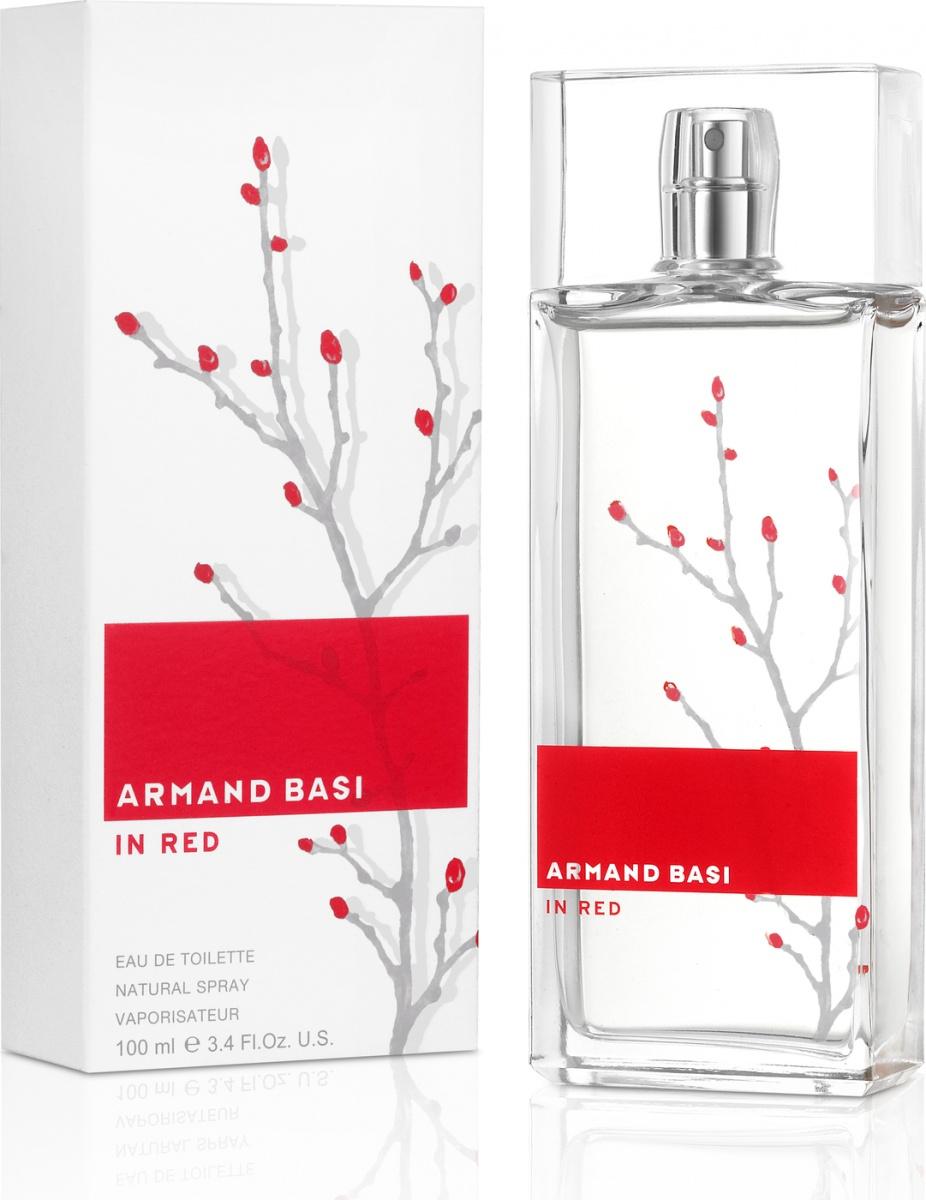 Купить Туалетная вода Armand Basi In Red 100 мл