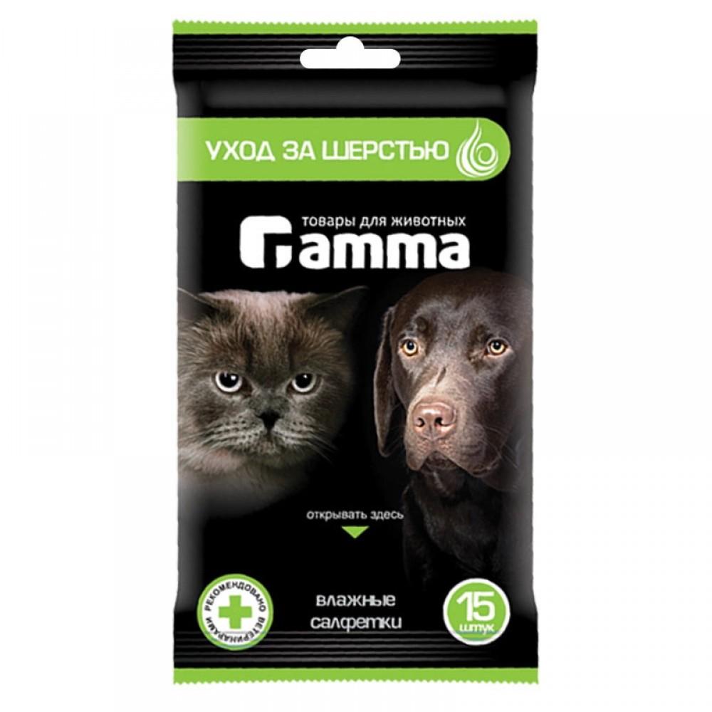 Влажные салфетки для кошек и собак Polidex,