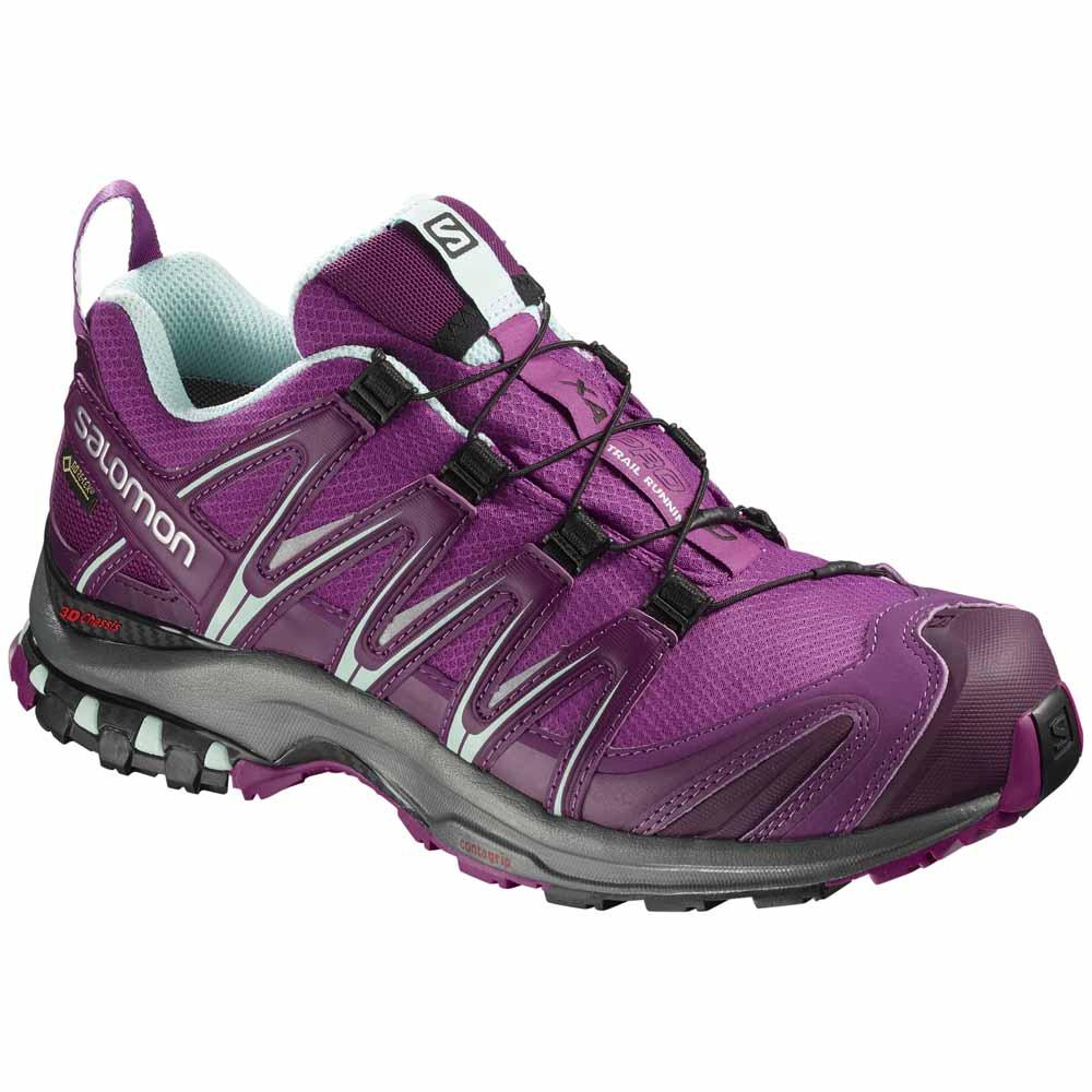 Кроссовки Salomon XA Pro 3D GTX, hollyhock/dark purple/eggshell