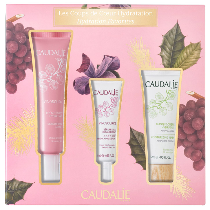 Набор косметики для лица Caudalie Vinosource Hydration Must-Haves