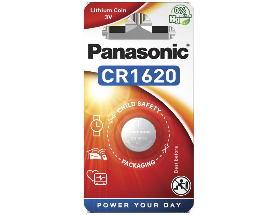 Батарейка Panasonic CR 1620EL/1B 1 шт