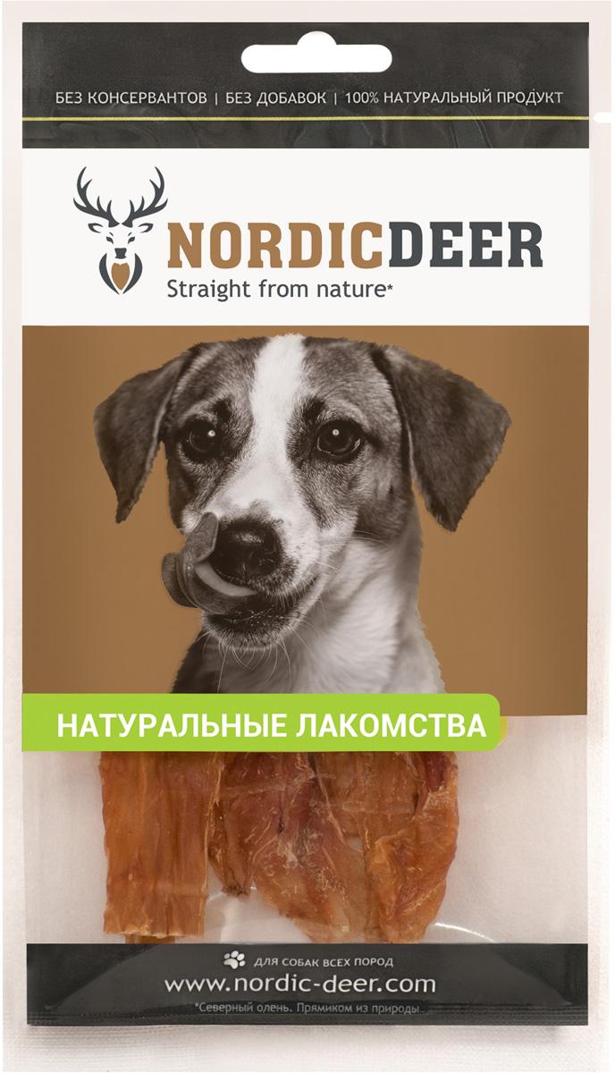 Лакомство для собак NORDIC DEER, рубец свиной,