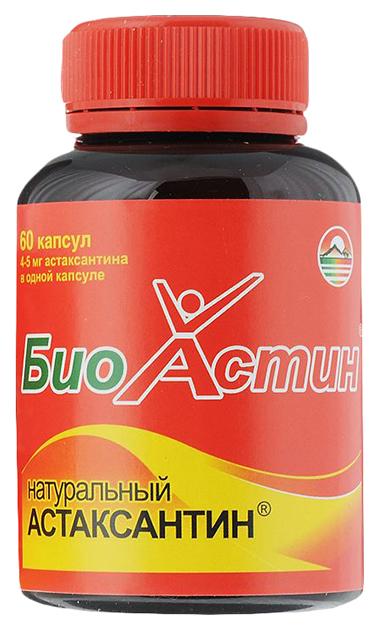 Купить Биоастин натуральный астаксантин капсулы 4мг/750мг N60, NoBrand