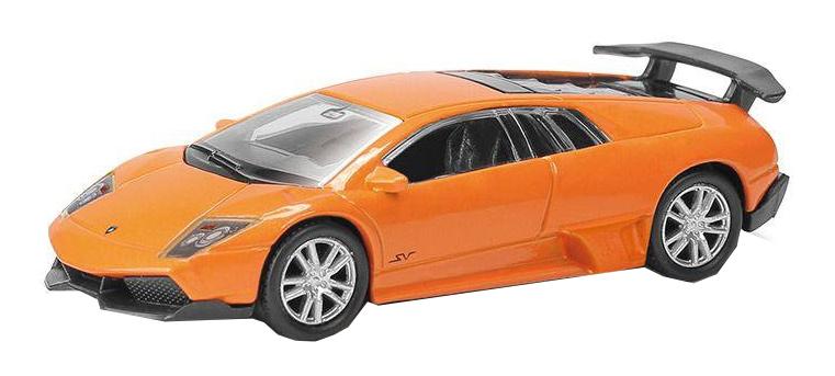 Машина металлическая RMZ City 1:64 Lamborghini Murcielago LP670-4 оранжевый 344997S-OR