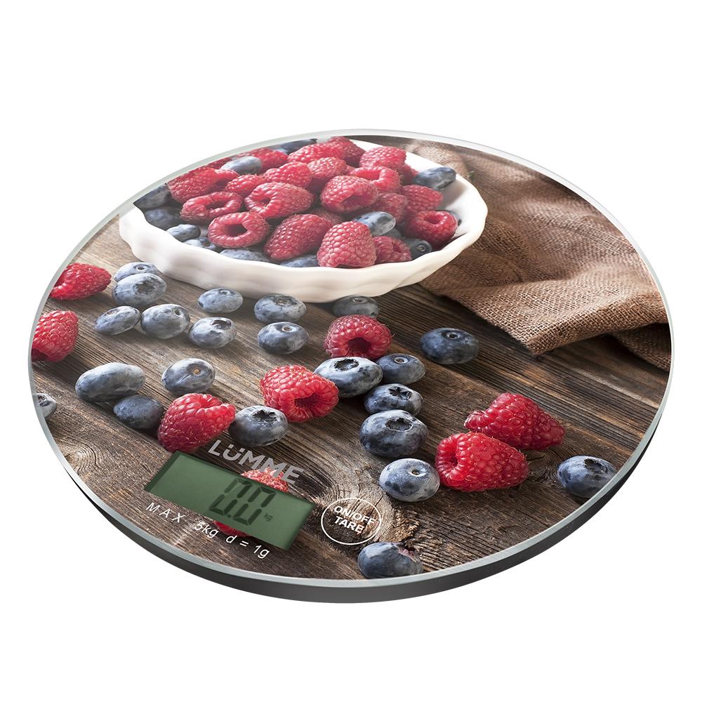 Весы кухонные LUMME LU 1341  Berry
