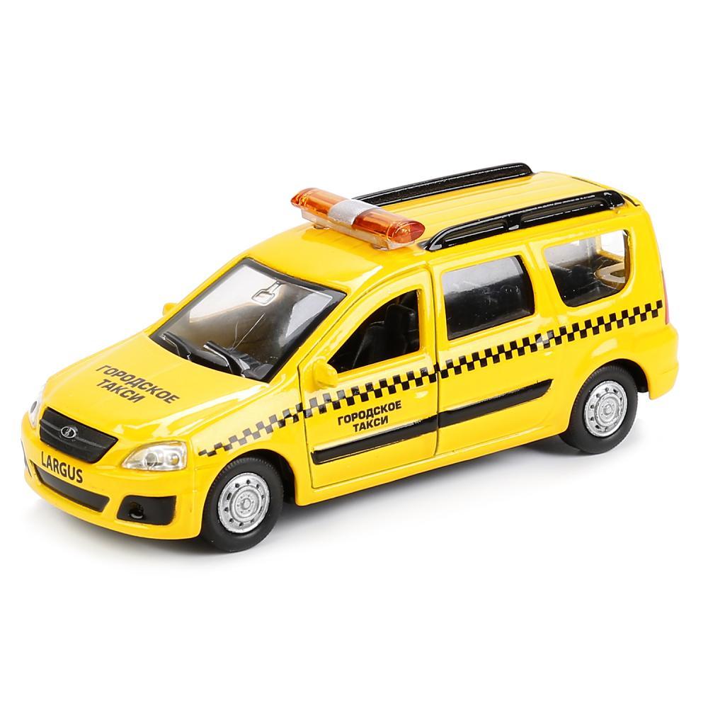 Купить Машинка Технопарк Lada Largus Такси 12см, Игрушечные машинки