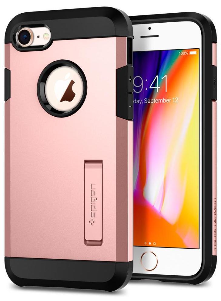 Чехол Spigen Tough Armor 2 для Apple iPhone 7/8 Rose Gold (054CS22215)