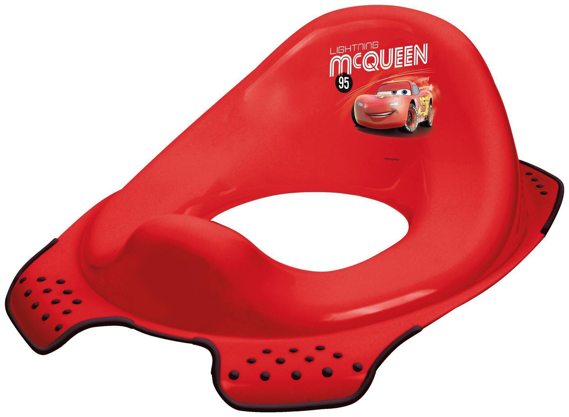 Накладка на унитаз Prima Baby Тачки, красная