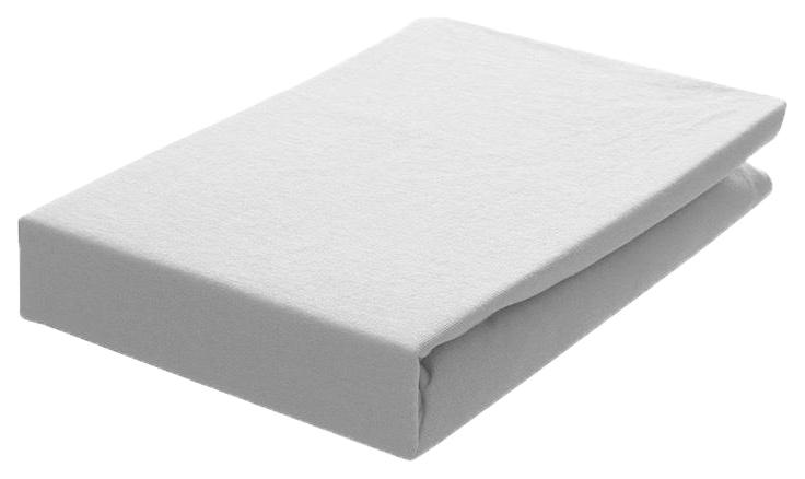 Простынь Odenwalder (Оденвальдер) на резинке трикотажная 026000-1 Weiss 0100