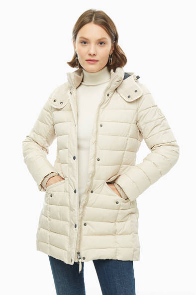 Куртка женская Marc O'Polo 098771051/109 бежевая 36 EU фото