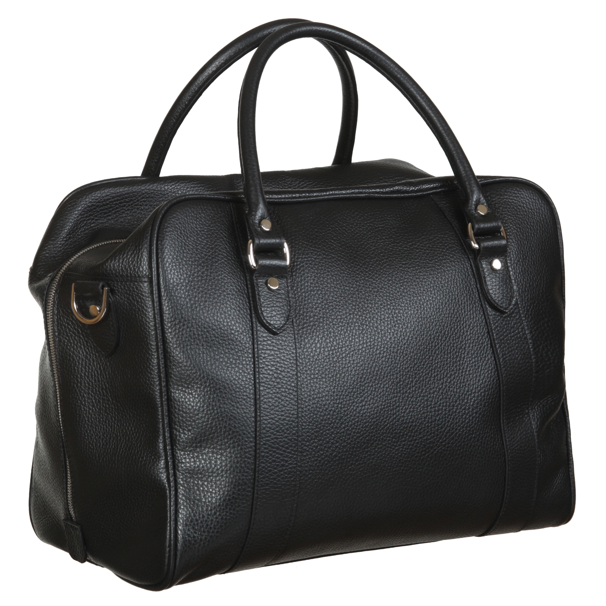 Дорожная сумка Sergio Belotti Napoli 8014 black 30 x 36 x 21 см.