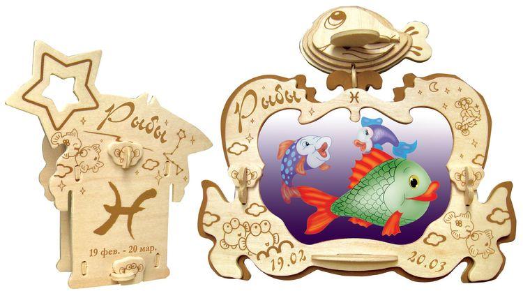Сборная модель Чудо-дерево Фоторамка Рыбы