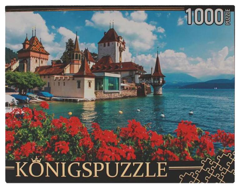 Купить Пазл Konigspuzzle Замок у воды КБК1000-6490 1000 элементов, Пазлы