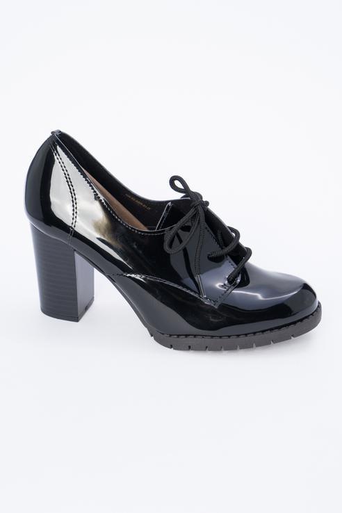 Туфли женские Calipso 408-02-BBR-01-IT черные 38 RU фото