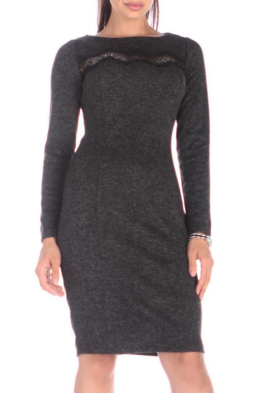 Платье женское Rebecca Tatti RR603_1AS черное S