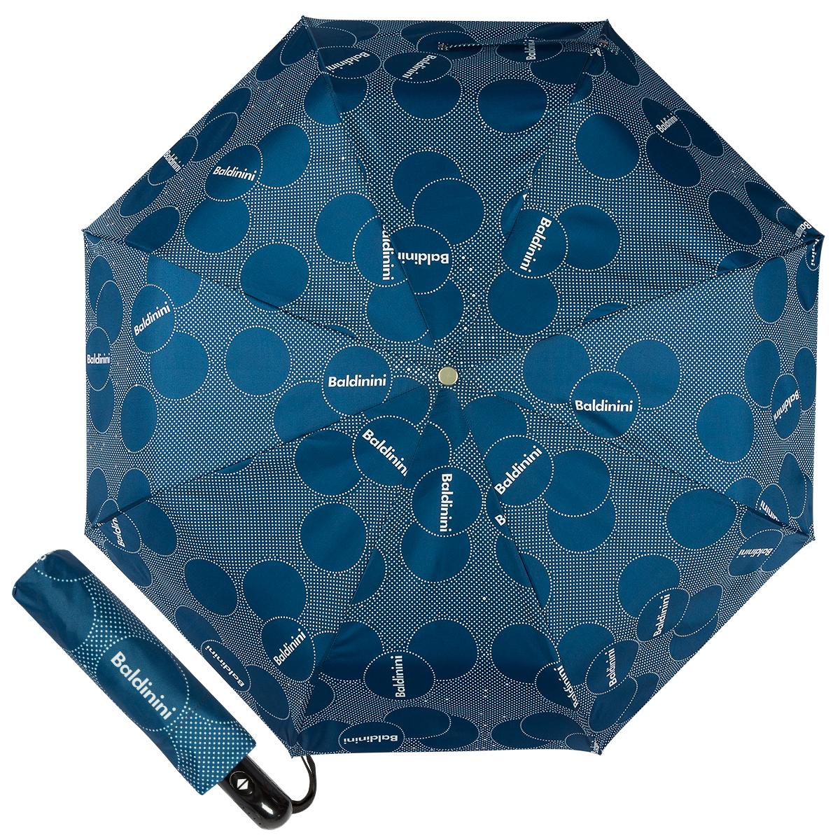 Зонт складной женский Baldinini 61-OC Dots Blue