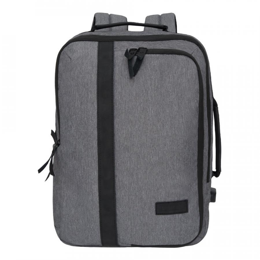 Городской рюкзак Grizzly серый