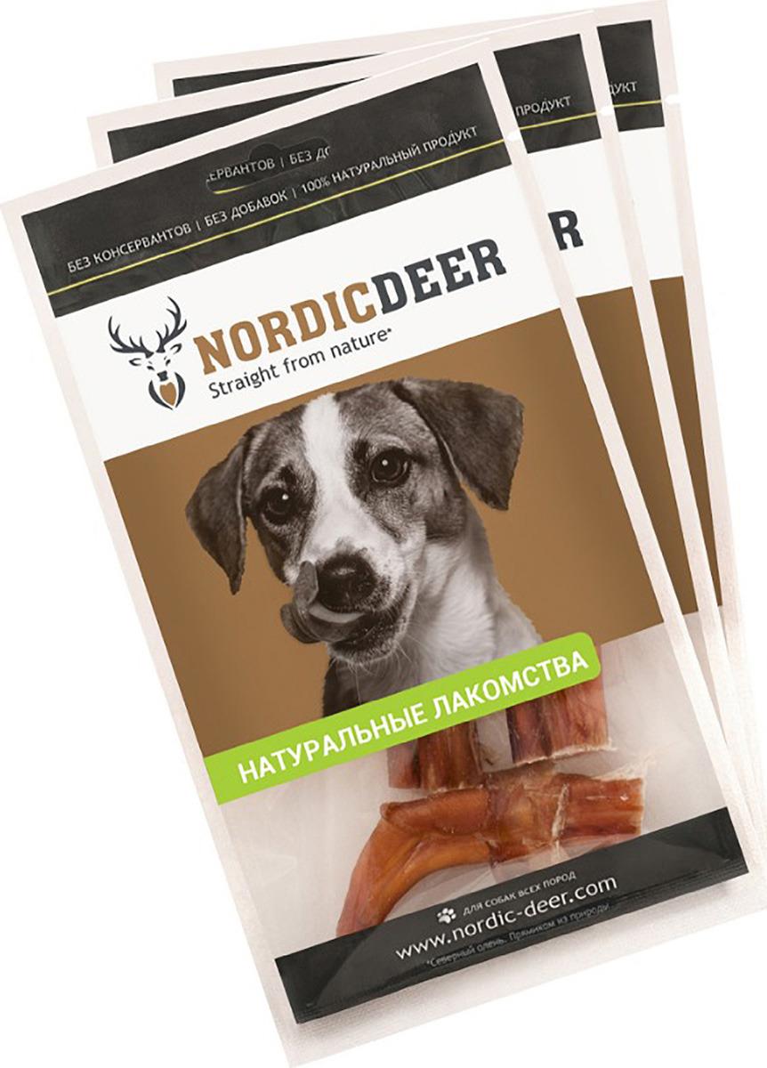 Лакомство для собак NORDIC DEER, легкое говяжье,