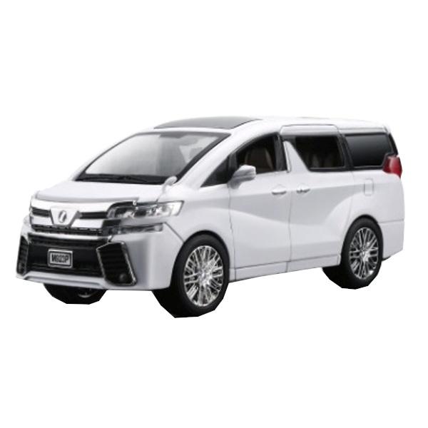 Купить Коллекционная модель машины минивэн TAY ALPH P инерционная 20см, цв. белый, Shantou Gepai, Игрушечные машинки