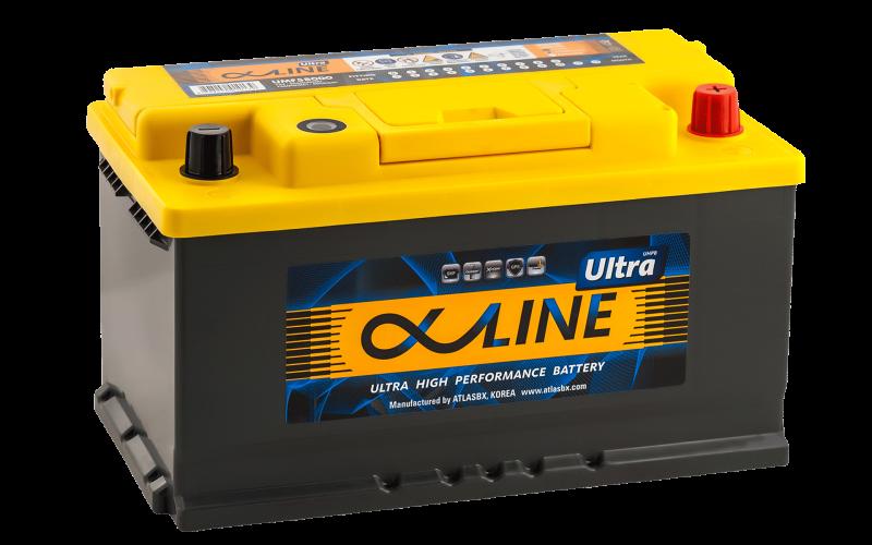 Аккумулятор ALPHALINE ULTRA 80SR фото