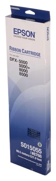 Картридж для матричного принтера Epson C13S015055BA, черный,