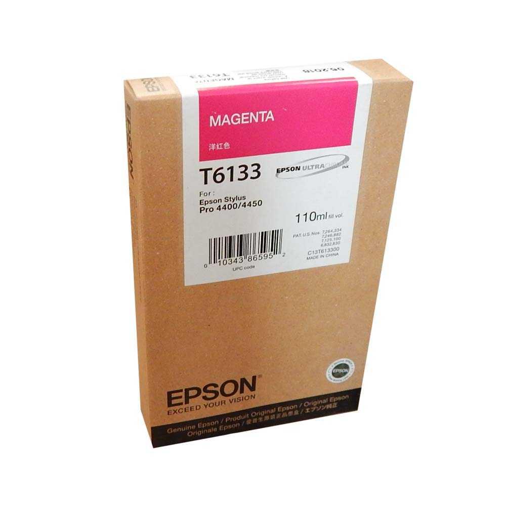 Картридж для струйного принтера Epson C13T613300 Magenta  - купить со скидкой