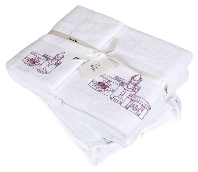 Банное полотенце, полотенце универсальное Devilla от кутюр