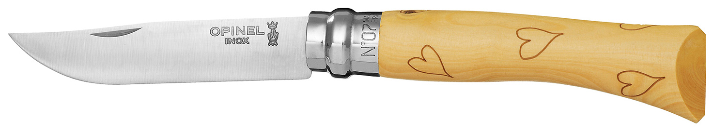 OPINEL №7 TRADITION NATURE HEART