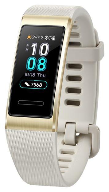 Смарт браслет Huawei Band 3 Pro Gold/White