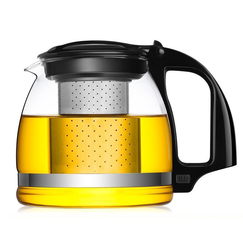 Стеклянный заварочный чайник Veitron с металлическим фильтром, 900 мл