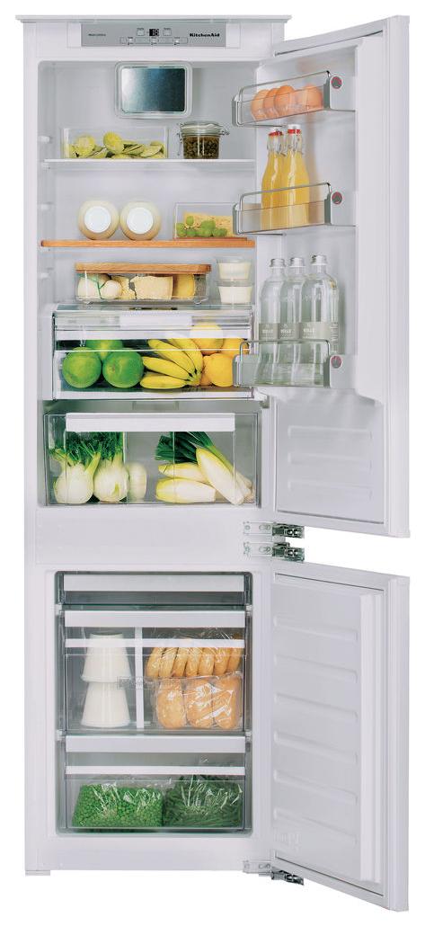 Встраиваемый холодильник KitchenAid KCBCR18600 White