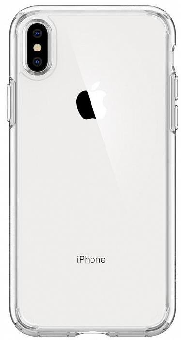 Чехол Spigen Ultra Hybrid (065CS25127) для iPhone Xs Max (Crystal Clear)