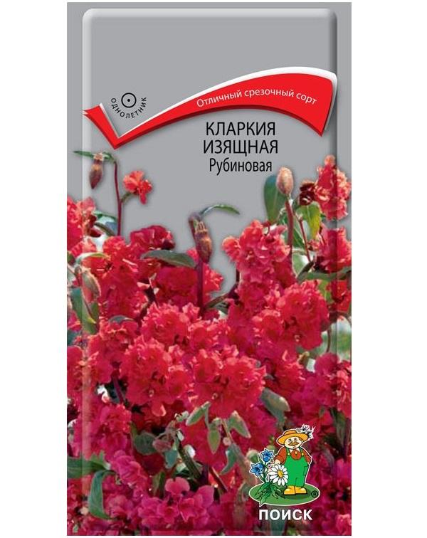Семена Кларкия изящная Рубиновая, 0,2 г Поиск