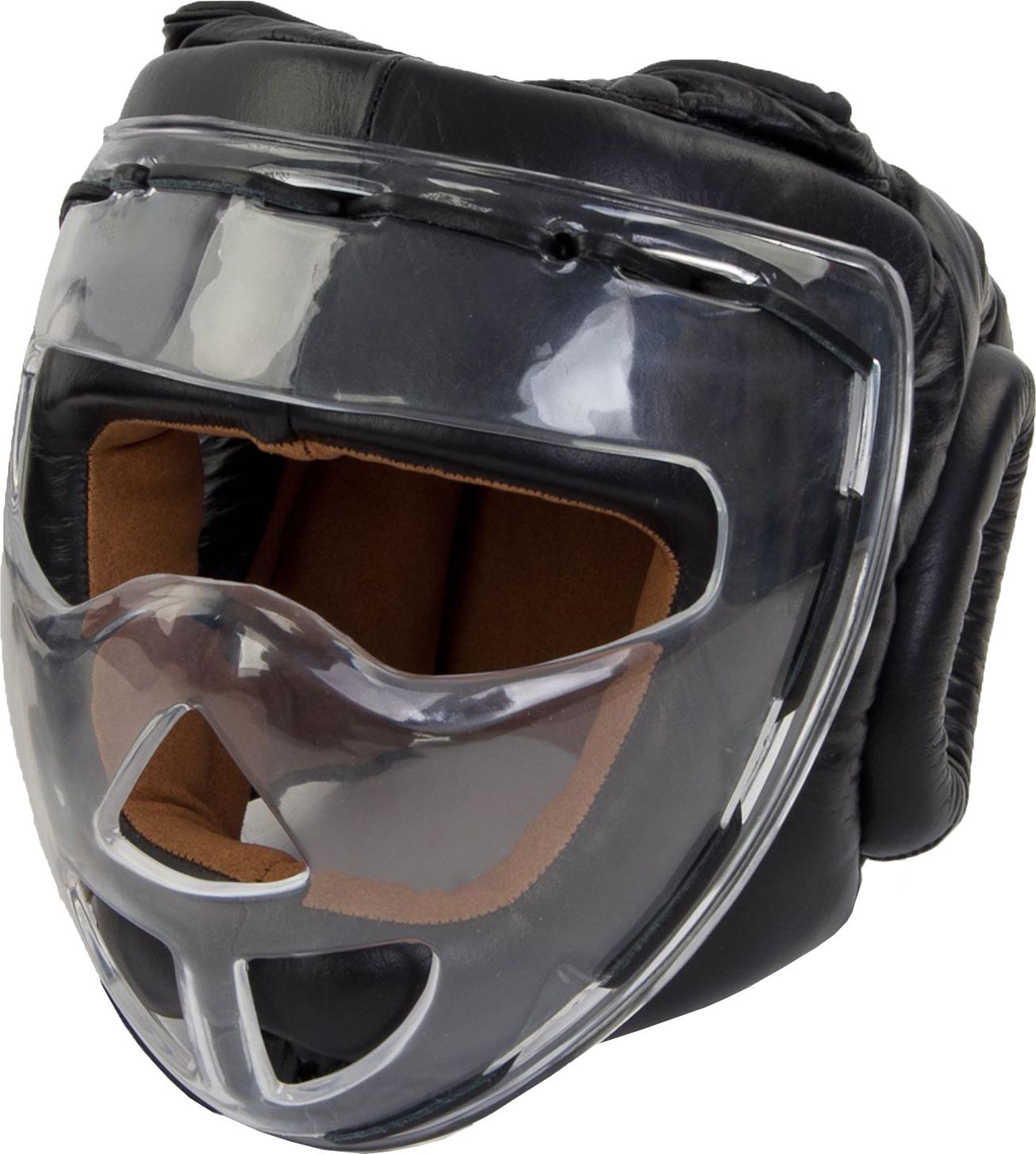 Боксерский шлем Jabb JE 2104 черный M
