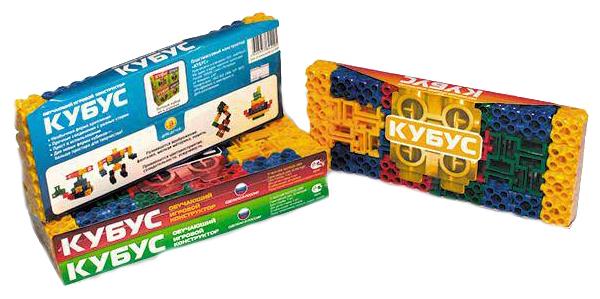 Купить Конструктор пластиковый Биплант Кубус 40 элементов, Конструкторы пластмассовые