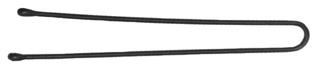 Купить Аксессуар для волос Dewal SLT60P-1/24 60 мм Черные 24 шт