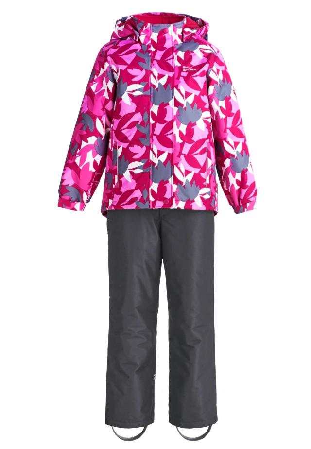 Купить Sp91204 pink, Комплект демисезонный: куртка и брюки Premont SP91204 розовый р.122, Комплекты верхней одежды для девочек