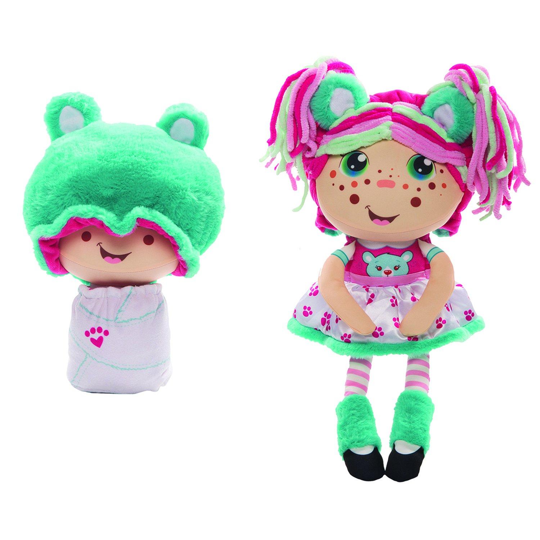 Купить 1 TOY Мягкая игрушка 2 в 1 Девчушка-Вывернушка. Надюшка, 16х14, 5х28, 5 см Т13638, Мягкие игрушки персонажи