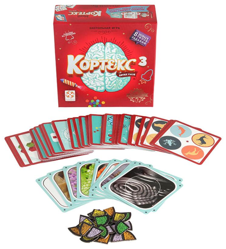 Купить Настольная игра Стиль Жизни Кортекс 3, Семейная настольная игра Стиль Жизни Кортекс 3 УТ100027572, Cтиль Жизни,